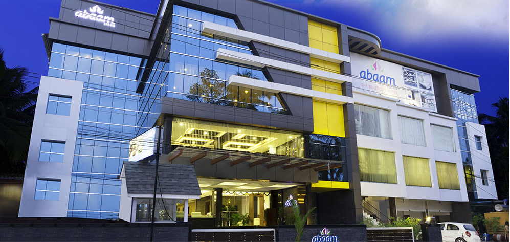 Abaam hotel the boutique hotel ernakulam best hotels in for Best boutique hotels kerala